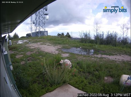 Live Snow webcam for Mt Lemmon Ski Valley