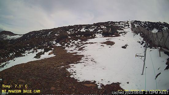 Webcam de Mt Mawson a las doce hoy