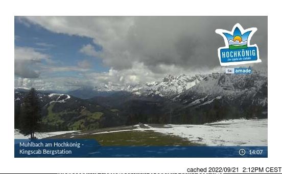 Muhlbach am Hochkonig webcam at lunchtime today