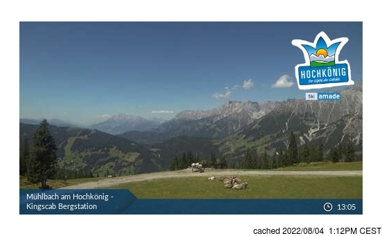 Live Snow webcam for Muhlbach am Hochkonig