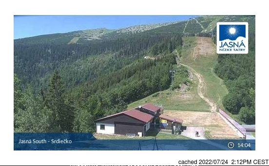 Mýto pod Ďumbierom webcam at lunchtime today