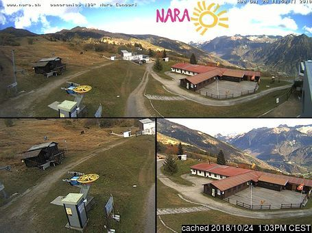 Nara webcam at lunchtime today