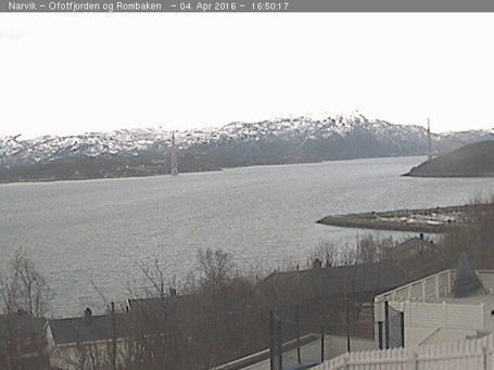 Narvik webcam at 2pm yesterday