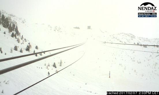Webcam de Nendaz a las 2 de la tarde hoy