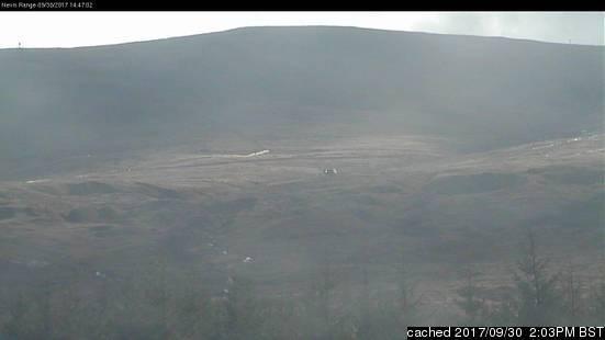 Nevis Range webcam às 14h de ontem