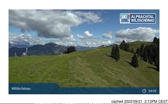 Niederau - Wildschonau webcam hoje à hora de almoço