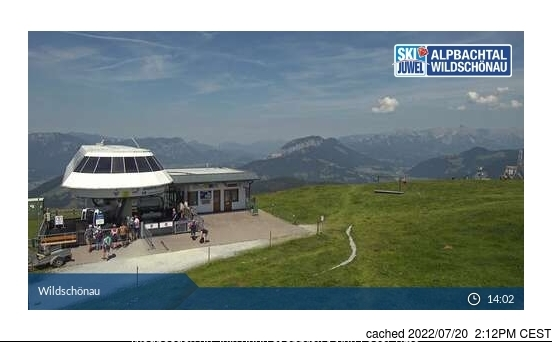 Webcam de Niederau - Wildschonau a las doce hoy