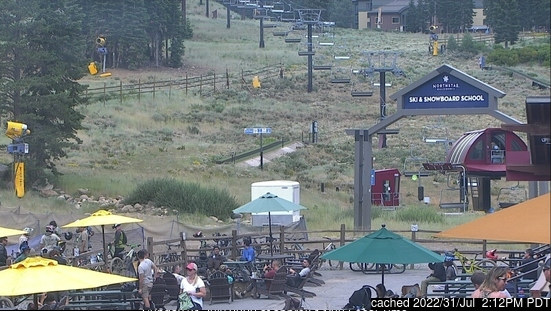 Webcam de Northstar at Tahoe à midi aujourd'hui