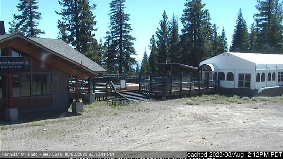 Webcam de Northstar at Tahoe a las doce hoy