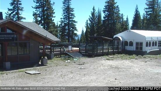 Northstar at Tahoe Webcam gestern um 14.00Uhr