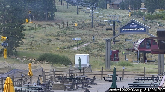 Live Snow webcam for Northstar at Tahoe