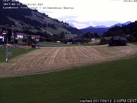 Oberau webcam at 2pm yesterday