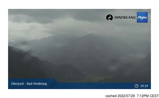 Live Snow webcam for Oberjoch