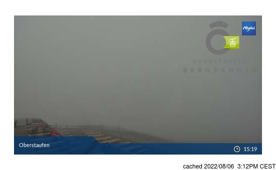 Live Snow webcam for Oberstaufen