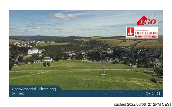 Oberweissbach webcam at 2pm yesterday