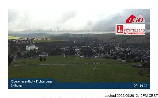 Oberweissbach webbkamera vid kl 14.00 igår