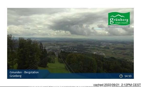 Obsteig/Grünberg webcam at lunchtime today