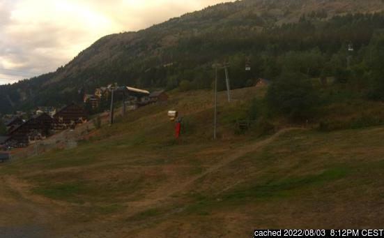 Live Snow webcam for Oz en Oisans