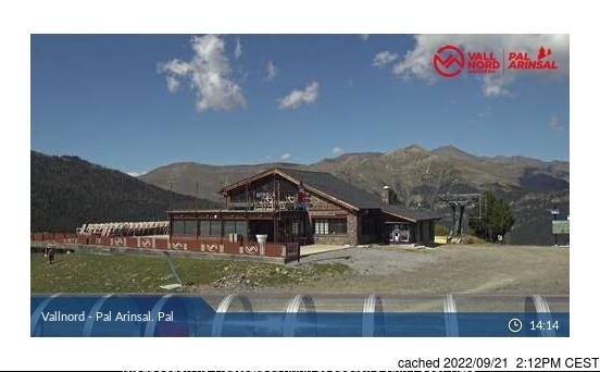 Webcam de Vallnord-Pal à midi aujourd'hui