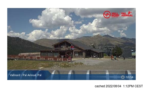 Webcam Live pour Vallnord-Pal