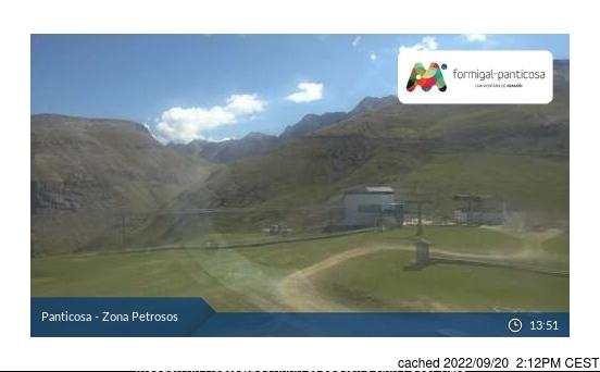 Webcam de Panticosa a las 2 de la tarde hoy