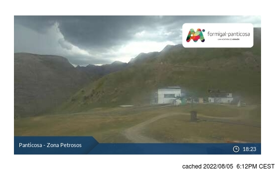 Live Snow webcam for Panticosa