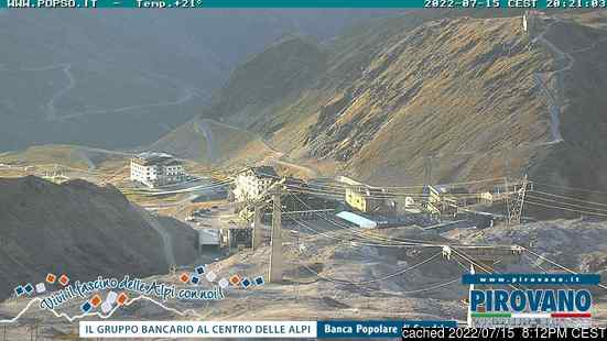 Live Webcam für Passo Stelvio
