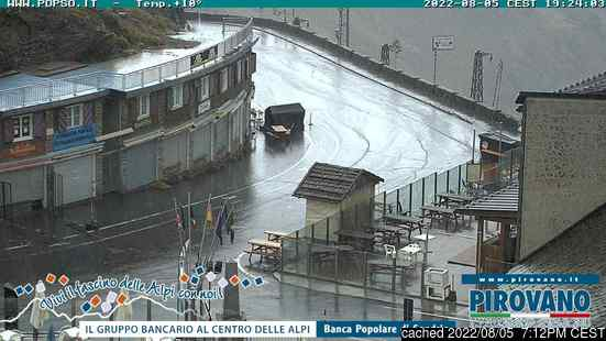 Live Snow webcam for Passo Dello Stelvio Stilfserjoch