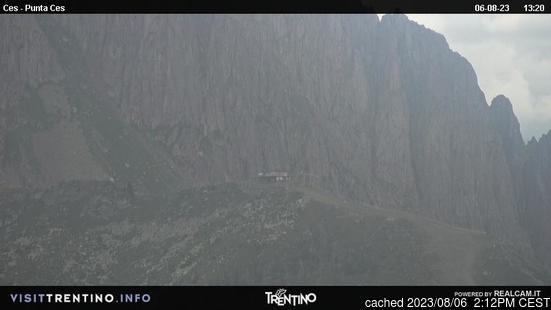 Živá webkamera pro středisko Passo Rolle