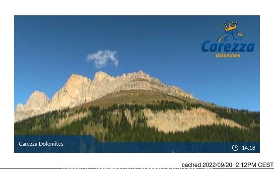Carezza webbkamera vid kl 14.00 igår