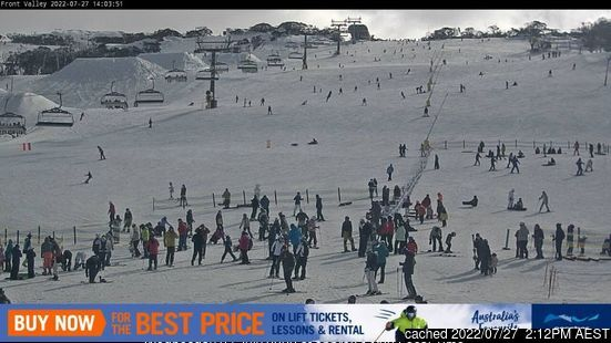 Webcam de Perisher à 14h hier