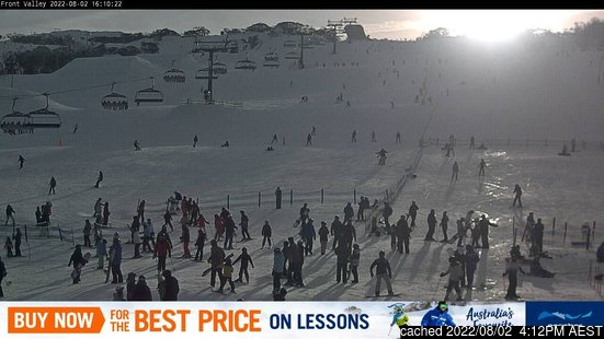 Live Snow webcam for Perisher