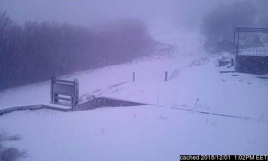 Pilion webcam at lunchtime today