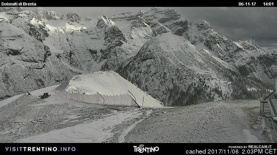 Pinzolo webcam at 2pm yesterday