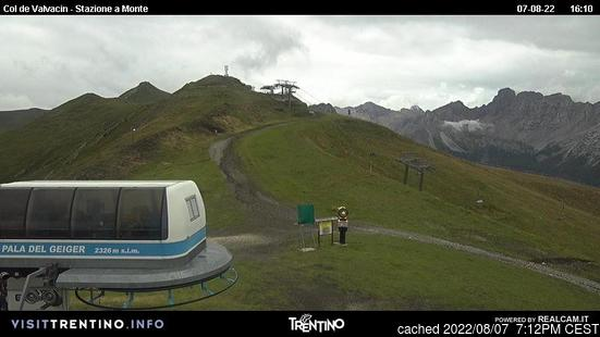 Live Snow webcam for Pozza di Fassa