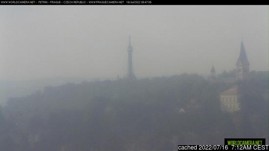 Live Snow webcam for Praha - Petřín