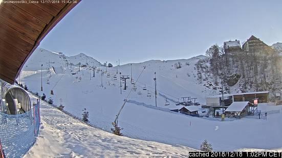 Mondolè (Prato Nevoso and Artesina) webcam às 14h de ontem