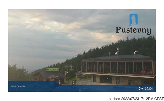 Live Snow webcam for Pustevny