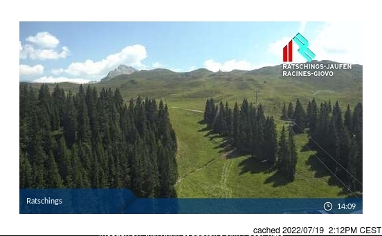 Racines webcam at 2pm yesterday