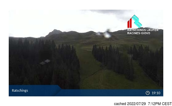 Live Snow webcam for Racines