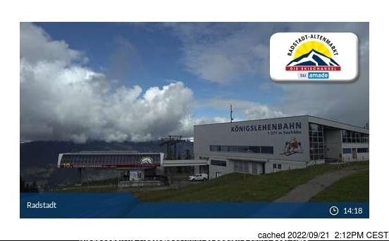 Radstadt/Altenmarkt webcam at lunchtime today