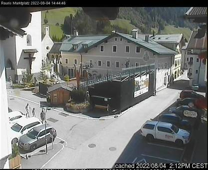 Rauris webcam at lunchtime today