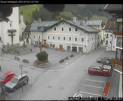 Webcam de Rauris a las doce hoy