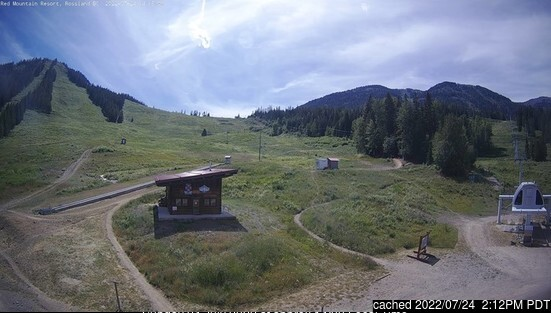 Red Mountain Resort webcam at lunchtime today