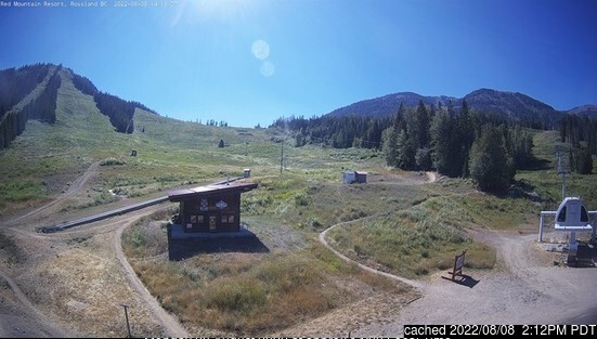 Red Mountain Resort webcam at 2pm yesterday