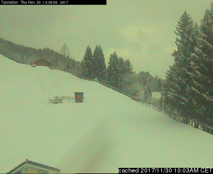 Grüntenlifte webcam at lunchtime today