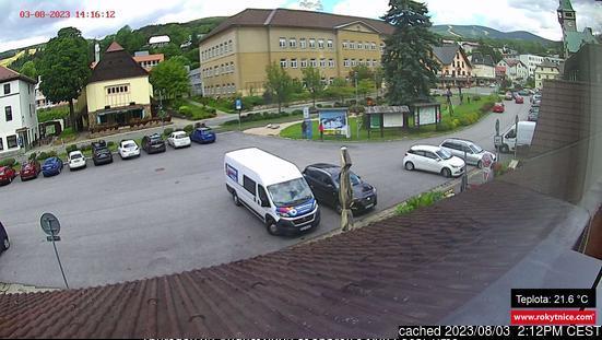 Rokytnice nad Jizerou webkamera v době oběda