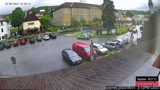 Rokytnice nad Jizerou webcam at 2pm yesterday