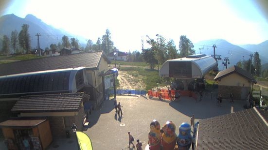 Rosa Khutor Alpine Resort webcam at lunchtime today