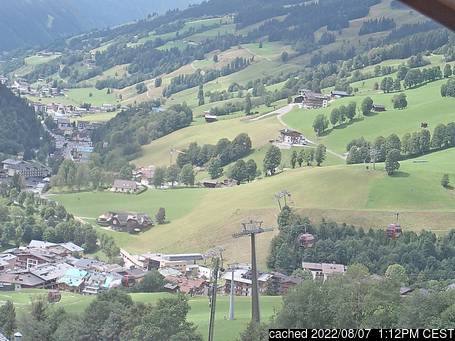 Live Snow webcam for Saalbach Hinterglemm